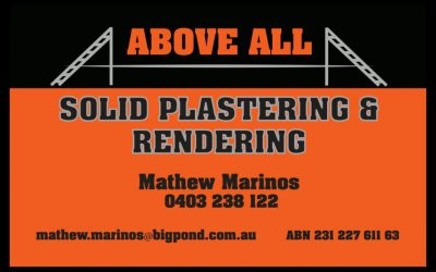 Above All Solid Plastering